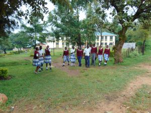 The Water Project:  Students Walking Through School Gate