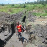 The Water Project: Chegulo Community, Sembeya Spring -  Excavation