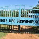 The Water Project: Ebubole UPC Secondary School -  School Gate