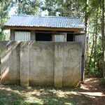 The Water Project: St. Peter's Khaunga Secondary School -  Girls Latrines
