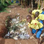 The Water Project: Saride Primary School -  School Compost Pit