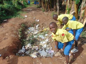The Water Project:  School Compost Pit