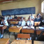 The Water Project: Friends Mixed Secondary School Lwombei -  Students In Class