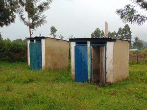 The Water Project:  Girls Latrine Block