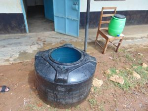 The Water Project:  Water Storage And Handwashing Station On Chair