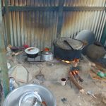 The Water Project: Malinda Secondary School -  Food Cooking Inside Kitchen