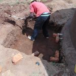 The Water Project: Musasa Primary School -  Digging Out The Tap Area