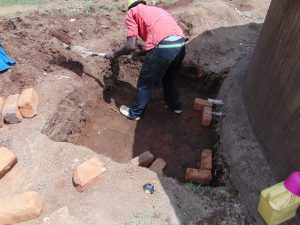 The Water Project:  Digging Out The Tap Area