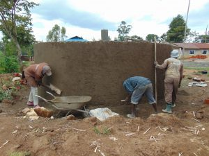 The Water Project:  Cement Work Continues