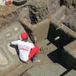 The Water Project: Chegulo Community, Sembeya Spring -  Cementing