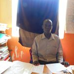 The Water Project: Makale Primary School -  Deputy Head Teacher Mr Zadock Mausi Ochieng