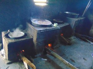 The Water Project:  Food Cooking On Stoves Inside Kitchen