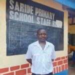 The Water Project: Saride Primary School -  Deputy Head Teacher Edward Mugera