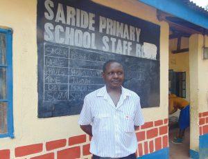 The Water Project:  Deputy Head Teacher Edward Mugera