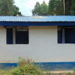 The Water Project: Mutiva Primary School -  Back Of Boys Latrines