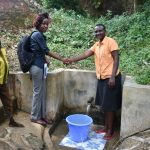 The Water Project: Mungakha Community, Asena Spring -  Teamwork In Maintaining The Spring