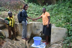 The Water Project:  Teamwork In Maintaining The Spring