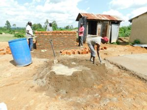 The Water Project:  Latrine Construction Begins