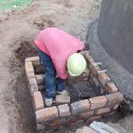 The Water Project: Musasa Primary School -  Brickwork At The Tap