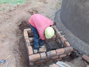 The Water Project:  Brickwork At The Tap