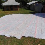 The Water Project: Goibei Primary School -  Rain Tank Dome Wire And Tarp