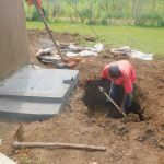 The Water Project: Shinyikha Primary School -  Digging The Drainage System