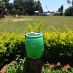The Water Project: St. Teresa's Isanjiro Girls Secondary School -  Handwashing Station