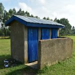 The Water Project: ACK St. Peter's Khabakaya Secondary School -  Girls Latrines