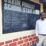 The Water Project: Saride Primary School -  Senior Teacher Moses Mugambi