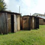 The Water Project: Friends Secondary School Shirugu -  Girls Latrine Block