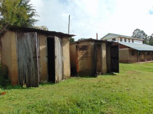 The Water Project:  Girls Latrine Block