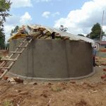 The Water Project: Mukangu Primary School -  Dome Work Commences