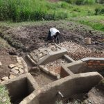 The Water Project: Bungaya Community, Charles Khainga Spring -  Construction In Progress