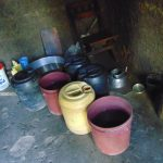 The Water Project: Friends Kuvasali Secondary School -  Kenya Water Storage Containers