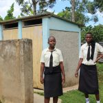 The Water Project: St. Gerald Mayuge Secondary School -  Girls At Their Latrines