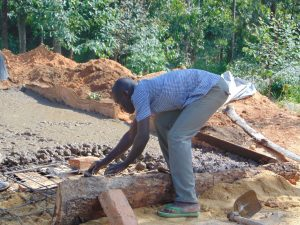 The Water Project:  Latrine Foundation Construction