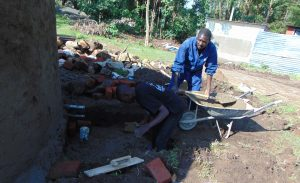 The Water Project:  Building The Access Area