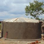The Water Project: Mukangu Primary School -  Dome Work Continues