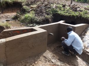The Water Project:  Outside Plaster