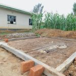 The Water Project: Elufafwa Community School -  Latrine Foundation Markers