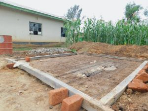 The Water Project:  Latrine Foundation Markers