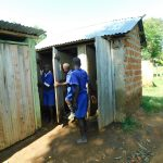 The Water Project: Makale Primary School -  Boys At Their Latrines