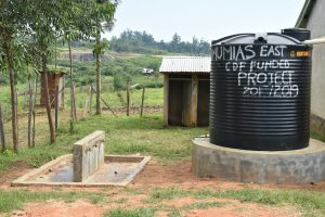 The Water Project:  Current Water Source A Small Rain Tank