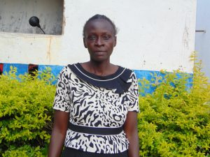 The Water Project:  Teacher Mrs Macline Alusa