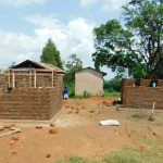 The Water Project: Enyapora Primary School -  Latrine Construction
