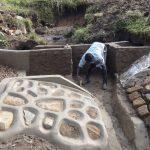 The Water Project: Bungaya Community, Charles Khainga Spring -  Plaster Works
