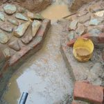 The Water Project: Shamakhokho Community, Imbai Spring -  Spring Takes Shape