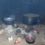 The Water Project: Friends School Ikoli Secondary -  Food Cooking Inside Kitchen