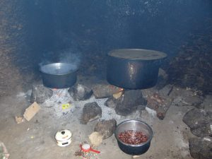 The Water Project:  Food Cooking Inside Kitchen