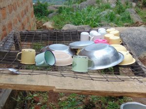 The Water Project:  Dishrack
